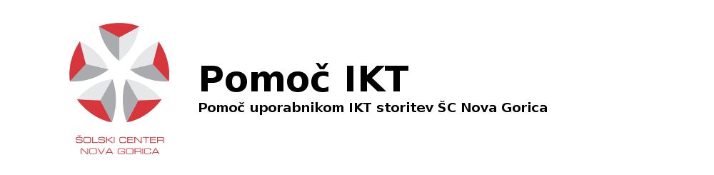 Pomoč IKT